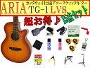【完璧15点セット】ARIA/アリア TG-1/TG1 LVS/ライトヴィンテージサンバースト 小ぶりなアコースティックギター【RCP】【P2】