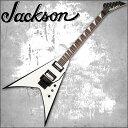 【正規品で安心♪♪】JACKSON JS32 KING V White with Black Bevels (エレキギター)【RCP】【P2】