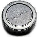 DCMR レンズ リア キャップ M4/3 マイクロ フォーサーズ 規格 ブラック 黒 (汎用品)