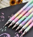 DCMR  虹色 レインボー 夢みる 夢子 ♪ キラキラ マーブル カラー ボール ペン
