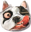DCMR ドッグ 犬 ボストンテリア コンパクト スモール 小銭 ウォレット 財布 立体 3D デザイン プリント コインケース