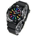 シチズン【Q&Q】10気圧防水 スポーツ アナログ表示腕時計★【VR25-001】