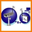 【格安】防犯デジタル無線カメラキャロットシステムズ デジタル2.4GHz帯無線カメラセットAT-2400WCS[AT2400WCS]