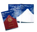 富士山 パスポートケース Akafuji(パスポートカバー/パスポートケース/富士山)