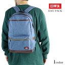 普段使いから小旅行まで使える万能なリュック/メンズ バッグ エドウィン EDWIN リュック デイパック ユニセックス