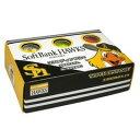 レザックス ソフトバンクホークス 2ピースゴルフボール 3色カラー ホワイト2個、イエロー2個、オレンジ2個 計6個入りパック SBBA-3711 LEZAX