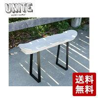 【送料無料】UNITE TABLE DECK テーブル ベンチ スケートデッキ風 EXF-UNITE-TBD-UHの画像