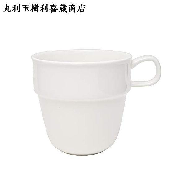 マグカップ フォルテモア ホワイト 直径8.5×高さ8.4cm 340ml  T-683781(TAMAKI)