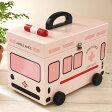 キュアメイト 救急箱(救急車) ピンク 【木製 おしゃれ かわいい】【あす楽対応】
