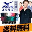 ミズノ スタンダード スクラブ 白衣 ユニセックス【S〜3L】