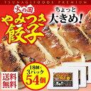ショッピングギョウザ 【送料無料】火の国やみつき餃子 18個入り3パック