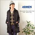 ARMEN [アーメン] キルティングシャツカラーコート NAM1483 US/SM A01148300 レディース あす楽対応