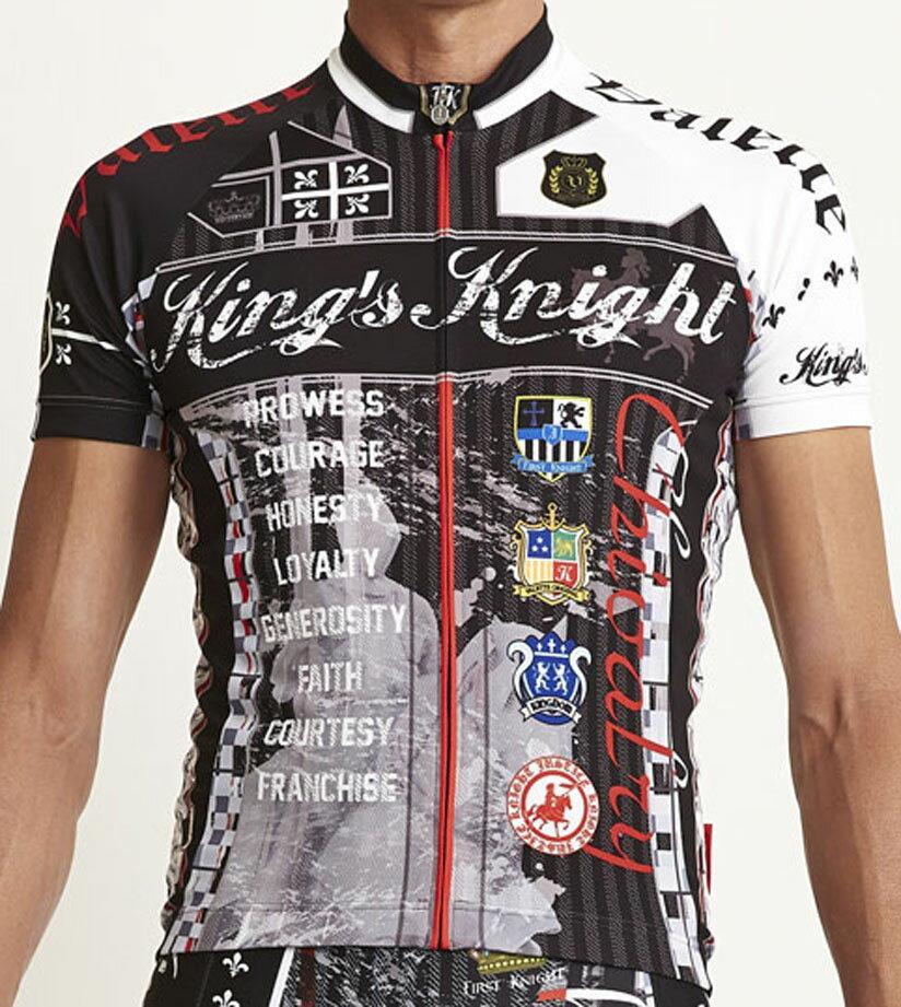 【VALETTE/バレット】King's Knight Black(キングスナイト ブラック) 半袖【サイクルジャージ/サイクルウェア/自転車/レプリカ/サイクル/ロードバイク/ウェア/ユニフォーム/ランニングウェア/フィットネスウェア】 サイクルウェアブランド【バレット】King's Knight Black(キングスナイト ブラック)半袖ジャージサイクルウェア/サイクルジャージ/ロードバイク