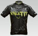 【VALETTE/バレット】NEON SKULL(ネオンスカル) 半袖 VALETTE A-LINE【サイクルジャージ/サイクルウェア/自転車/レプリカ/サイク...