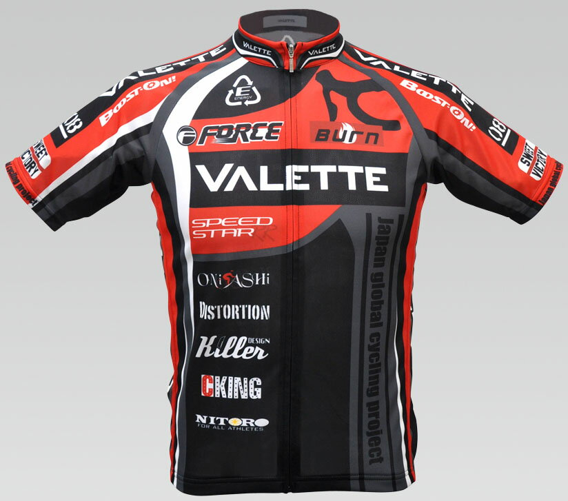 【VALETTE/バレット】SPEEDII FORCE(スピードII フォース)RED(レッド) 半袖 VALETTE A-LINE【サイクルジャージ/サイクルウェア/自転車/レプリカ/サイクル/ロードバイク/ウェア/ユニフォーム/ランニングウェア/フィットネスウェア】 【バレット】半袖ジャージ VALETTE A-LINEサイクルウェア/サイクルジャージ/ロードバイク