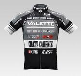 【VALETTE/バレット】SPEED (スピード)Gray(グレー) 半袖 VALETTE A-LINE【サイクルジャージ/サイクルウェア/自転車/レプリカ/サイクル/ロードバイク/ウェア/ユニフォーム/ランニングウェア/フィットネスウェア】