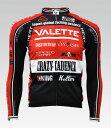 【VALETTE/バレット】SPEED (スピード)RED(レッド) 長袖 VALETTE A-LINE【サイクルジャージ/サイクルウェア/自転車/レプリカ/サイクル..