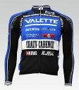 【VALETTE/バレット】SPEED (スピード)BLUE(ブルー) 長袖 VALETTE A-LINE【サイクルジャージ/サイクルウェア/自転車/レプリカ/サイク..