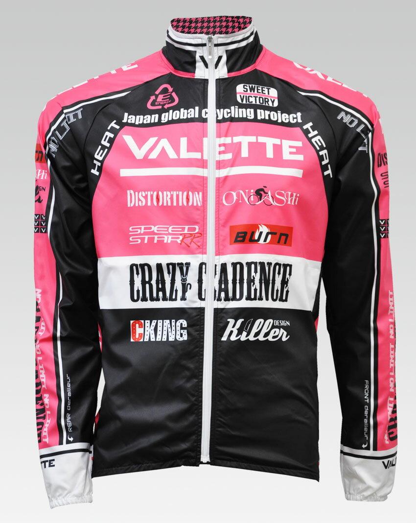 【VALETTE/バレット】SPEED (スピード)Pink( ピンク) ウインドブレーカー VALETTE A-LINE【サイクルジャージ/サイクルウェア/自転車/レプリカ/サイクル/ロードバイク/ウェア/ユニフォーム/ランニングウェア/フィットネスウェア】 【バレット】ウインドブレーカー VALETTE A-LINEサイクルウェア/サイクルジャージ/ロードバイク