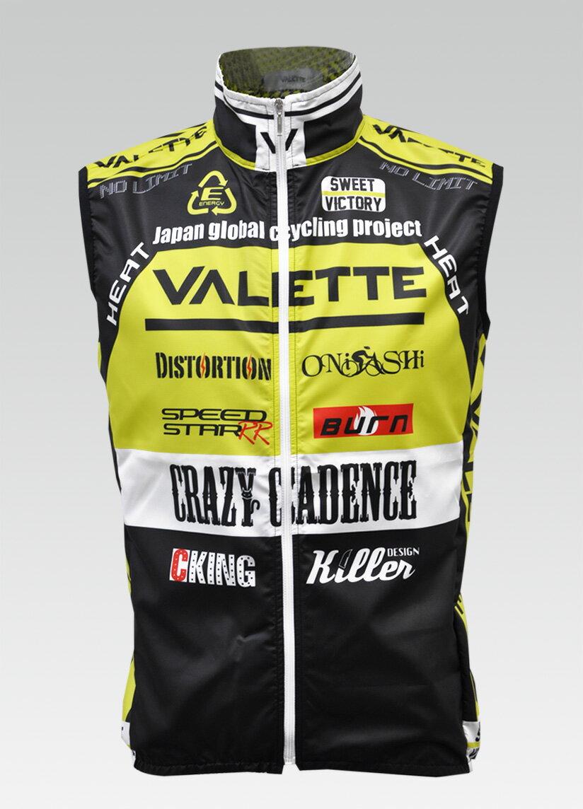 【VALETTE/バレット】SPEED (スピード)Limeyellow( ライムイエロー) ウインドベスト VALETTE A-LINE【サイクルジャージ/サイクルウェア/自転車/レプリカ/サイクル/ロードバイク/ウェア/ユニフォーム/ランニングウェア/フィットネスウェア】 【バレット】ウインドベスト VALETTE A-LINEサイクルウェア/サイクルジャージ/ロードバイク
