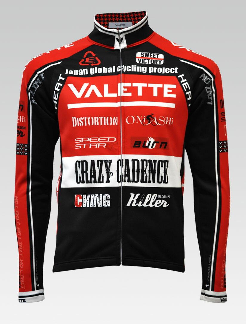 【VALETTE/バレット】SPEED (スピード)RED(レッド) ウインタージャケット VALETTE A-LINE【サイクルジャージ/サイクルウェア/自転車/レプリカ/サイクル/ロードバイク/ウェア/ユニフォーム/ランニングウェア/フィットネスウェア】 【バレット】ウインタージャケット VALETTE A-LINEサイクルウェア/サイクルジャージ/ロードバイク中古(中古)