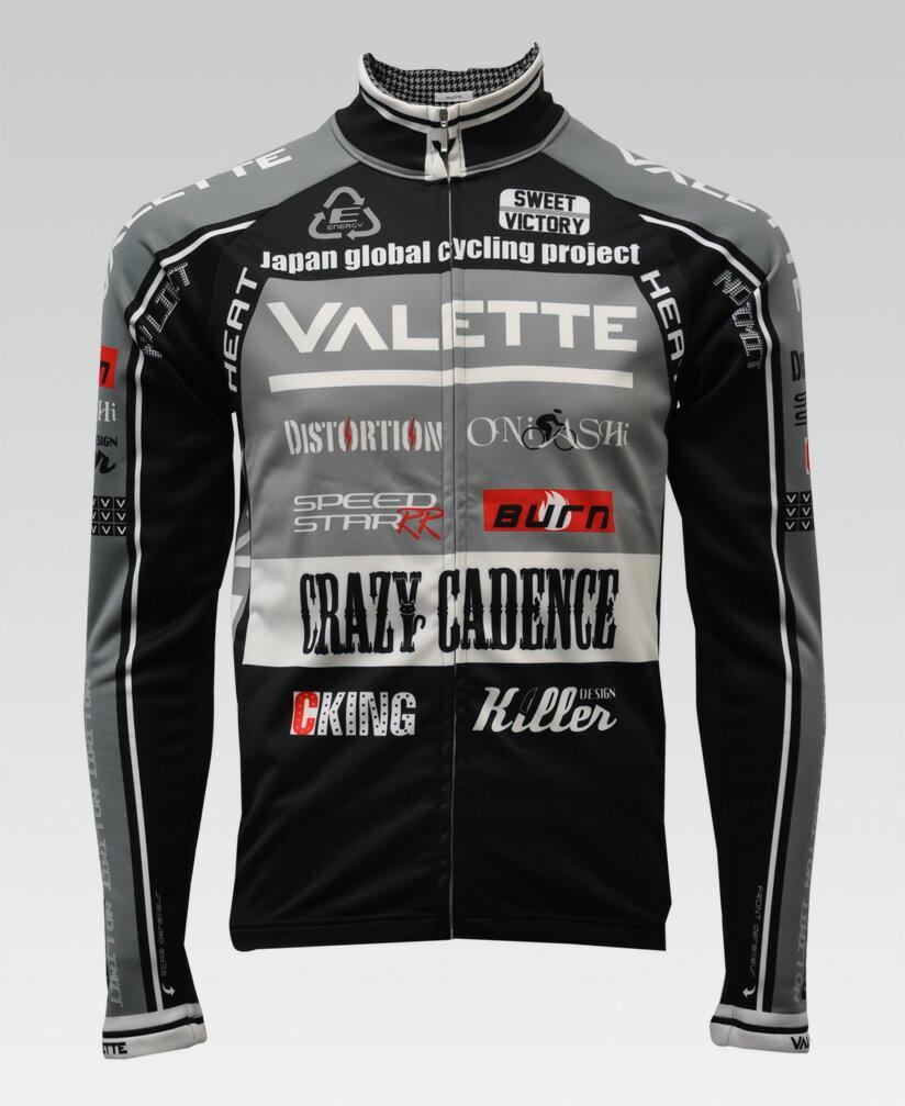 【VALETTE/バレット】SPEED (スピード)GRAY(グレー) ウインタージャケット VALETTE A-LINE【サイクルジャージ/サイクルウェア/自転車/レプリカ/サイクル/ロードバイク/ウェア/ユニフォーム/ランニングウェア/フィットネスウェア】 【バレット】ウインタージャケット VALETTE A-LINEサイクルウェア/サイクルジャージ/ロードバイク