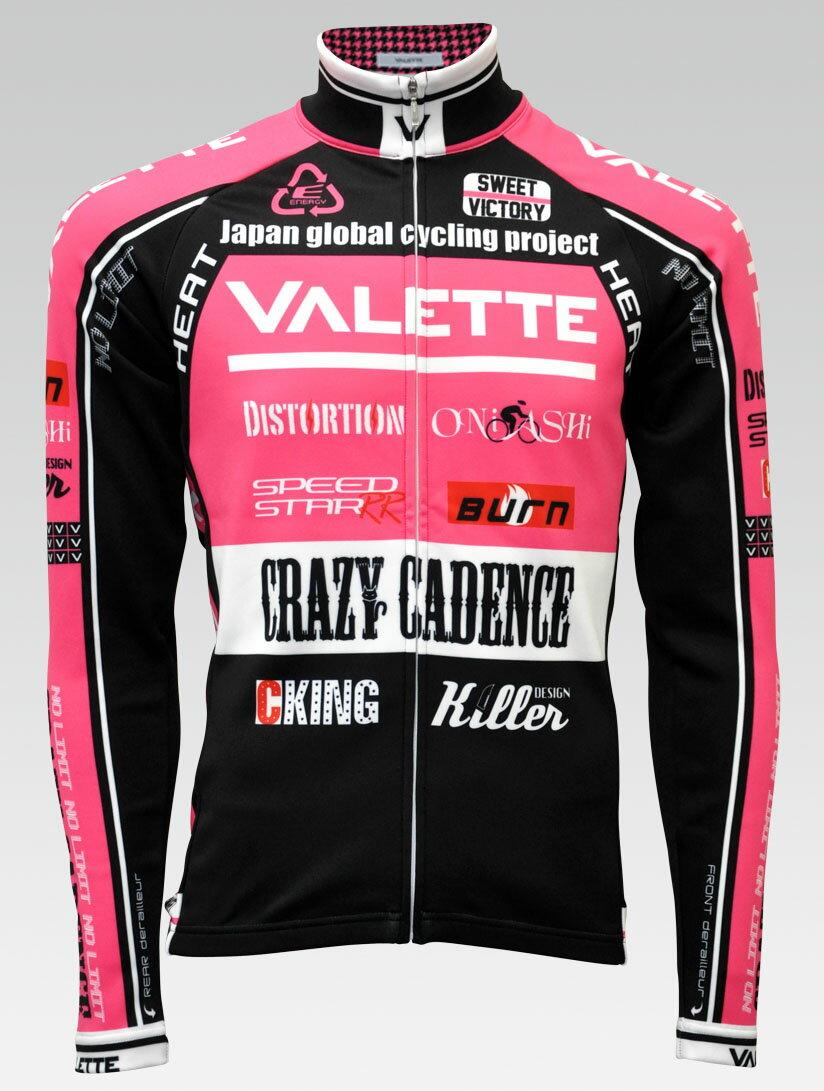 【VALETTE/バレット】SPEED (スピード)PINK(ピンク) ウインタージャージ VALETTE A-LINE【サイクルジャージ/サイクルウェア/自転車/レプリカ/サイクル/ロードバイク/ウェア/ユニフォーム/ランニングウェア/フィットネスウェア】 【バレット】ウインタージャージ VALETTE A-LINEサイクルウェア/サイクルジャージ/ロードバイク