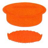 ヴィヴ(viv) シリコンスチーマー キャセロール L (3〜4人用) キャロットオレンジ