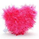 オーマ・ロー 歯磨きおもちゃ・ハート・ピンク 犬用おもちゃ・...