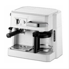★数量限定★営業日15時迄の注文で即日出荷★デロンギ BCO410J-W コンビコーヒーメーカー ホワイト 本格的な贅沢3メニューを、たった1台で同時に愉しめます 贈り物に