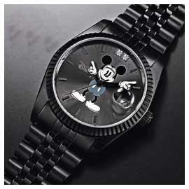 ■送料無料■ ディズニー世界限定腕時計 チャーミングアイウォッチ ブラック プレゼント ダイヤモンド シリアルナンバー プレミアム