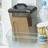 米スターの米ポット鮮度を保つ冷蔵庫での保管用の米ポット