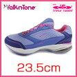 【LA GEAR エルエーギア】 ウォークントーン トリプルトーニング レディス 23.5cm ♯12670040 歩くだけで体のあらゆる筋肉を刺激し引き締める効果