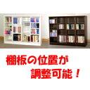■送料無料■2色対応 ライド 1cmピッチ スライド書棚 幅120 ロータイプ 【書棚・CD・DVD・ビデオ収納に!】