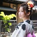 髪飾り 「蛍光色の大きなダリア」夏祭り 花火 盆踊り お祭り 蛍光 ピンク 青 オレンジ 黄緑