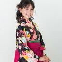 卒業式 袴 レンタル 女 小学校卒業 小学生 ジュニア卒業式袴セット着物&袴 フルセットレンタル