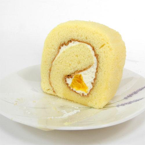 五色ロール しまなみレモン 食べ切りカットタイプ − お菓子工房おち