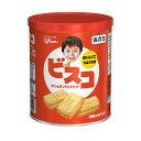 【災害対策にも】 グリコ ビスコ保存缶 30枚