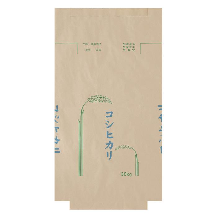 【収穫用品】 河野産業 米袋 コシヒカリ 30kg