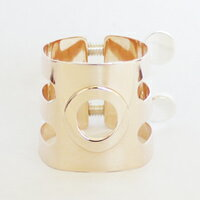 ウッドストーンB♭クラリネットリガチャー総銀製ピンクゴールドSSPGP