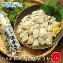 送料無料 松島産 産地直送 生食用カキむき身500g×2本 1kg かき 牡蠣 貝 年末 グルメ