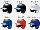 mizuno/ミズノ 野球「軟式一般用」両耳付 打者ヘルメット1DJHR101