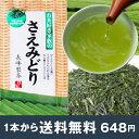 お茶好き家族のさえみどり100g 【メール便送料無料】 鹿児島茶