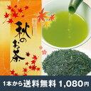 【メール便送料無料】《季節限定》秋のお茶100g 直売店でも大人気!秋によみがえる新茶の香り お茶は秋に美味しくなります。夏の間に熟成されたコク豊かなおいしい日...