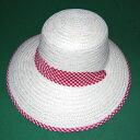 ショッピング麦わら帽子 はまぐり 帽子 女 (麦わら帽子)農作業 帽子