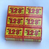 123(ひふみ)マッチ小(12箱入1箱約37本入り)【0511SALE】