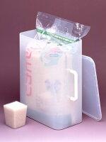 【送料無料】【日本製】袋まるごと米びつくん5kg(計量カップ付)