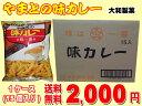 【送料無料】昔ながらの味 大和製菓 やまとの味カレー 60g1ケース15個入り
