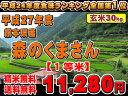 【平成27年度】熊本県産  森のくまさん 【検査等級1等米】【送料無料】【精米無料】【玄米】【30kg】【九州の米】九州米 02P03Sep16