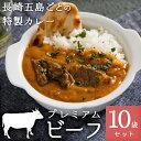 長崎五島ごとの特製カレー プレミアムビーフ 10袋セット
